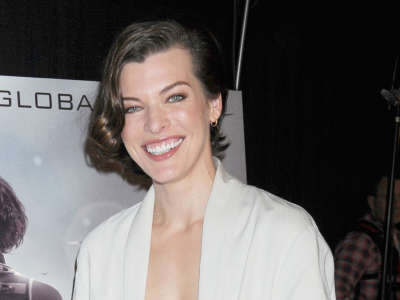Milla Jovovich At Resident Evil Retribution In 3D In NYC