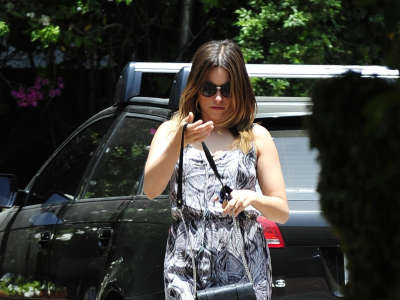 Sophia Bush Shopping In West Hollywood