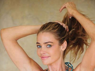 Denise Richards Michael Simon Bikini Shoot In Encino