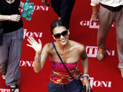 Jessica Alba2 Giffoni Film Festival In Italy