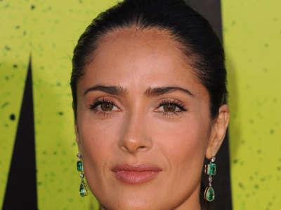 Salma Hayek Savages Hollywood Premiere In Los Angeles