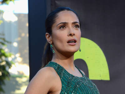 Salma Hayek Savages Hollywood Premiere In Los Angeles