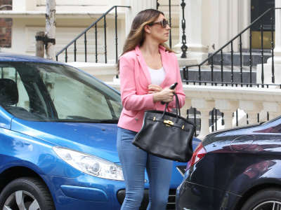 Kelly Brook Out And About Candids In London