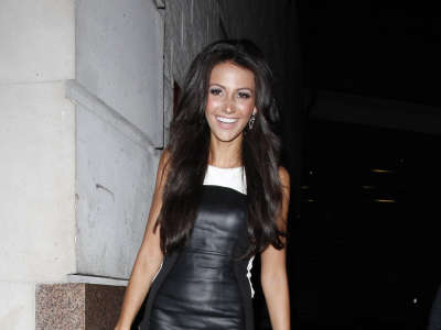 Michelle Keegan Out And About Candids In Manchester