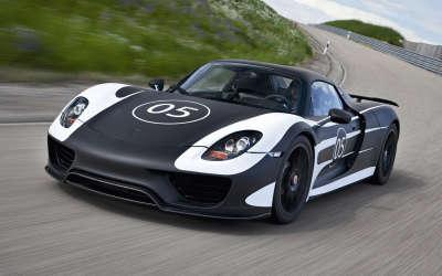 Porsche Spyder Prototype2