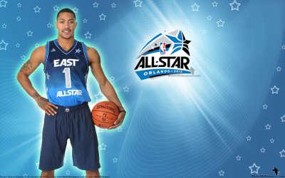 2012 NBA All Star Derrick Rose Wallpaper BasketWallpapers.com