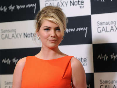 Kate Upton Samsung Galaxy Note 10.1 Launch Event In New York