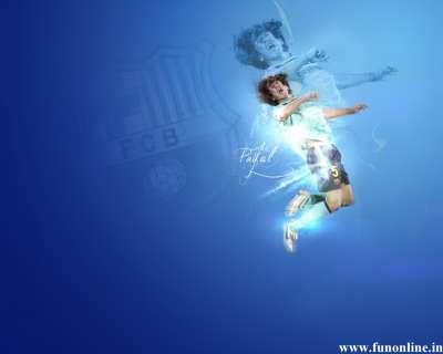 Outstanding Spanish Footballer Carles Puyol E1334923007317