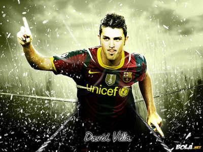 2011 David Villa Wallpaper