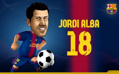 Jordi Alba Wallpapers
