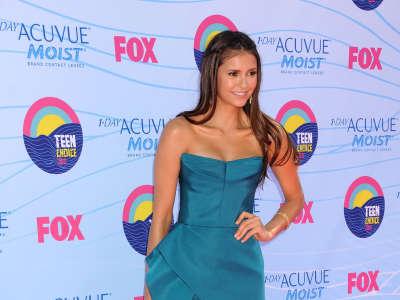 Nina Dobrev At Teen Choice Awards