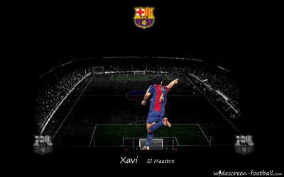Xavi Barcelona Wallpaper003