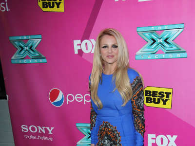 Britney Spears The X Factor Season 2 Premiere In Hollywood