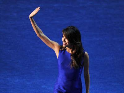 Eva Longoria Democratic National Convention Appearance In Charlotte