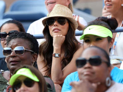 Eva Longoria US Open In Flushing Meadows