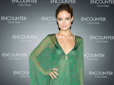 Olivia Wilde Encounter Calvin Klein Fragrance Launch In New York