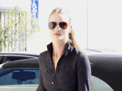 Rosie Huntington Whiteley Out And About Gym Candids In Beverly Hills