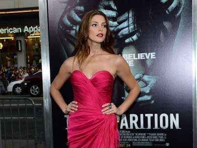 Ashley Greene The Apparition Hollywood Premiere In Los Angeles