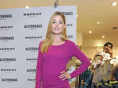Doutzen Kroes Repeat By Doutzen Fashion Collection Launch In Germany