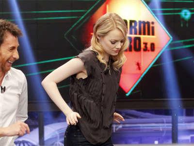 Emma Stone El Hormiguero Appearance In Madrid