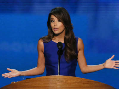 Eva Longoria Democratic National Convention Appearance In Charlotte