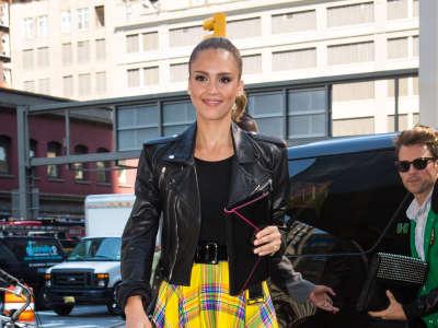 Jessica Alba Ralph Lauren Fashion Show In New York