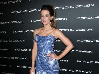 Kate Beckinsale Porsche Design 40th Anniversary In Los Angeles