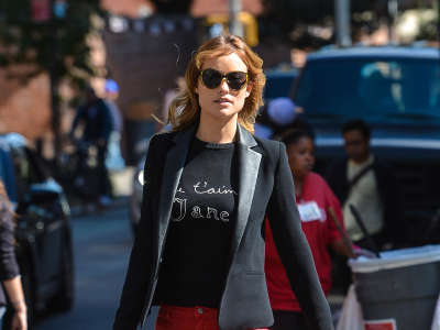 Olivia Wilde Out And About Candids In New York