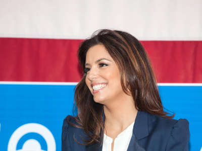 Eva Longoria Participates In Early Vote Canvass Kickoff In Florida