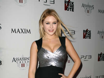 Renee Olstead Assassins Creed III Launch Party In Los Angeles