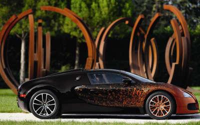 Bugatti Veyron Grand Sport Bernar Venet2