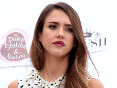 Jessica Alba Luxury Baby And Toddler Show Premiere In Los Angeles
