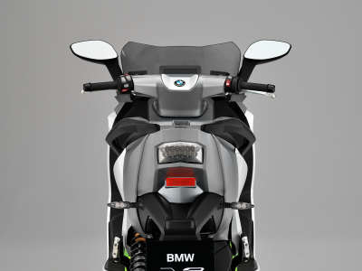 Motorcycle BMW C Evolution