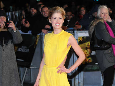 Rosamund Pike In London