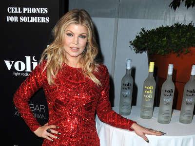 Stacy Ferguson At Voli Light Vodka Party
