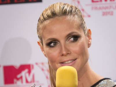 Heidi Klum2 MTV European Music Awards Photocall In Frankfurt