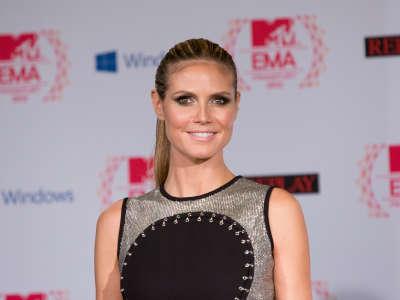 Heidi Klum2 MTV European Music Awards Photocall In Frankfurt