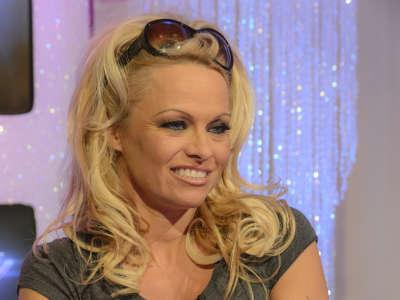 Pamela Anderson TV Show In London