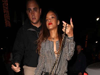 Rihanna Nightclub Hollywood