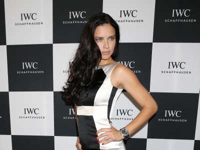 Adriana Lima IWC Gala In Switzerland