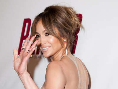 Jennifer Lopez Parker Premiere At Planet Hollywood In Las Vegas