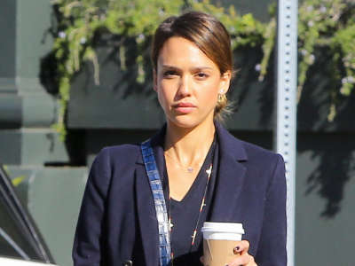 Jessica Alba Out And About Candids In Los Angeles