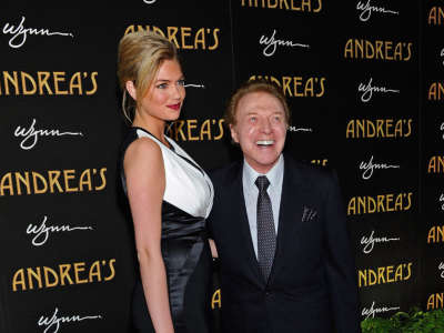 Kate Upton Andreas Grand Opening At Wynn In Vegas