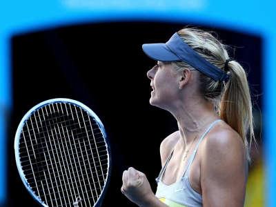 Maria Sharapova3 Australian Open Day 9 Candids In Melbourne