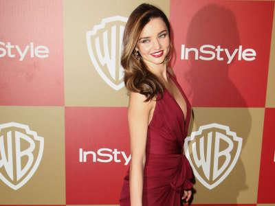 Miranda Kerr Golden Globes Party