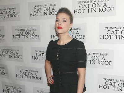 Scarlett Johansson Cat On A Hot Tin Roof