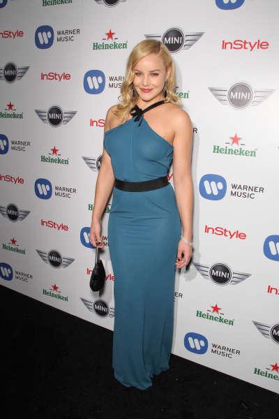 Abbie Cornish Warner Music Groups3 Grammy Celebration In Hollywood
