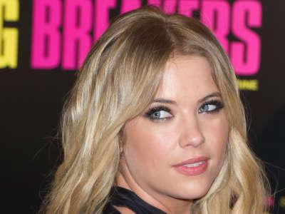 Ashley Benson Spring Breakers Premiere In Paris