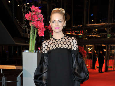 Emma Stone The Croods Premiere At The 63rd Berlin International Film Festival