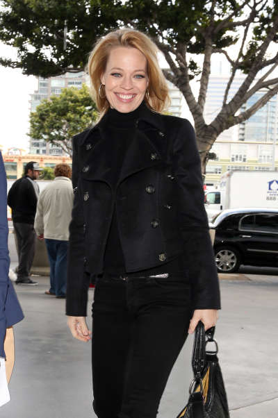 Jeri Ryan Out And About Candids In Los Angeles